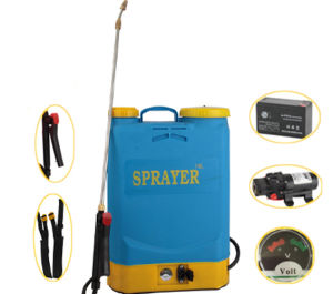 16L 12V Sealed Lead-Acid Rechargeable Dry Battery Sprayer, Knapsack High Efficient Garden Operated Sprayer pictures & photos