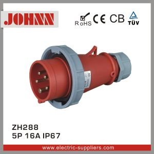 IP67 5p 16A Plug for Industrial with Ce Certification pictures & photos