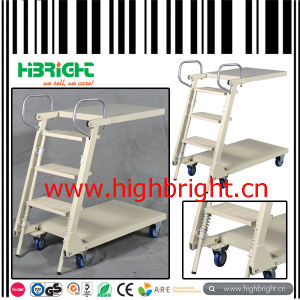 Movable Stair Climbing Truck Ladder Truck Ladder Cart pictures & photos