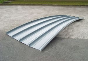 Al-Mg-Mn Alloy High Standing Seam Metal Roofing Plate pictures & photos