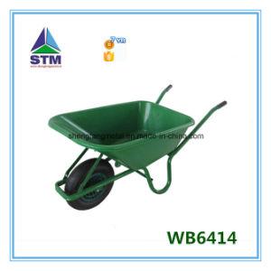New Design Heavy Duty Double Wheel Wheelbarrow pictures & photos
