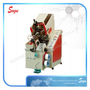 Hydraulic Automatic Cementing Toe Lasting Machine pictures & photos