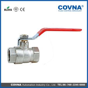 "1 1/2 "" Covna Forged Brass Ball Valve pictures & photos"