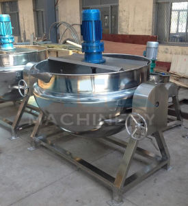 Vertical Chocolate Jacketed Kettle for Cooking pictures & photos