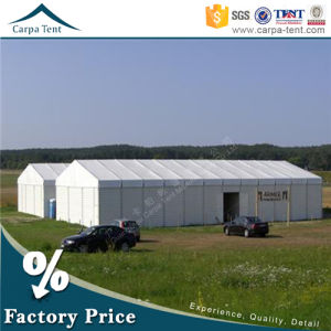 Shelter Structure Tent 10m*27m Company Timeless Warehouse Tent with Fireproof Canvas pictures & photos