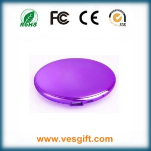 Cosmestic Mirror Small to Take 2500mAh Power Bank Battery Pack pictures & photos