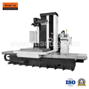 High Precision Five Axis Horizontal Boring and Milling CNC Machining Center with Rotary Table pictures & photos