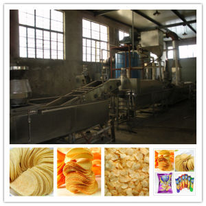 CE/ISO Approved Full Automatic Potato Chips Making Machine pictures & photos