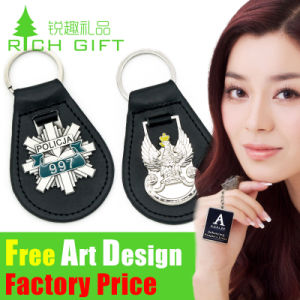 OEM Custom Metal/PVC/Leather Keychain for Gift pictures & photos