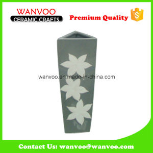 Triangle Ceramic Wall Vase Floor Vase for Promotion pictures & photos