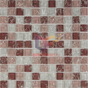 Pink Crystal Cracked Glass Mosaic Tile (CC160) pictures & photos