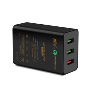 QC2.0+2.4A 42W 3 USB Charger - Qualcomm Quick Charge