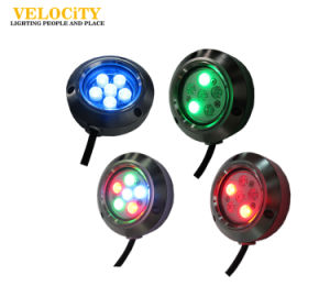 24V 6W IP68 RGB Stainless Steel LED Boat Light Ce Approved pictures & photos