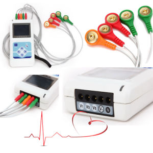 Ce Approved 3-Channel 24-Hour Holter (Cardioscope CS-3CL) -Fanny pictures & photos