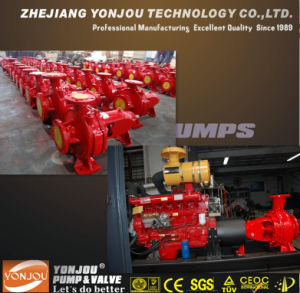 Multicylinder Diesel Water Centrifugal Pump for Fire Fighting with Famous Diesel Einge pictures & photos