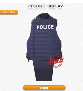 Soft Lightweight Flotation Bulletproof Jacket V-Multi071 pictures & photos