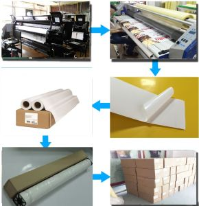 Self Adhesive PP Synthetic Paper for Pigment&Dye Digital Pringting pictures & photos