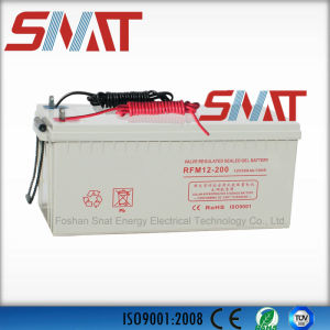 200ah Active Polymer Solar Gel Batteries for Solar Power System pictures & photos