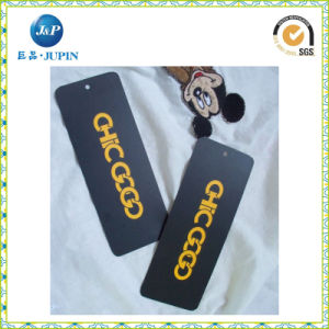 Wholesale Custom Logo Printed Garment Hang Tag (JP-HT026) pictures & photos