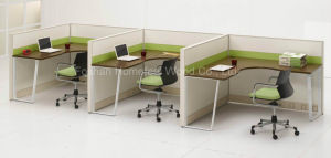 New Office Furniture Workstation with Partition Screen (HF-LTP008) pictures & photos