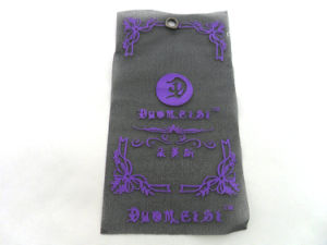 Custom Fabric Hang Tags Design for Clothing pictures & photos