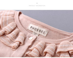 100% Cotton Phoebee Wholesale Knitted Baby Clothes pictures & photos