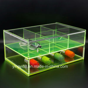 Factory Wholesale Acrylic Jewelry Display Tray pictures & photos