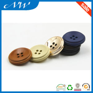 Four Holes ABS Plastic Button for Over Coat pictures & photos
