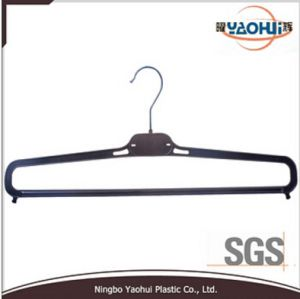 Men Pant Plastic Hanger with Metal Hook for Display pictures & photos
