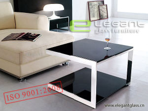 Hot High Quality Glass End Table in Living Room pictures & photos