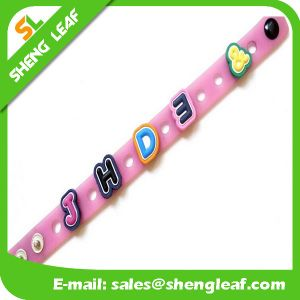 Cheap Soft PVC Rubber Band Bracelets pictures & photos