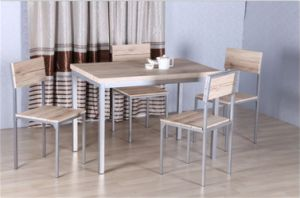 High Quality Dining Set for Dining Room, MDF Board + PVC