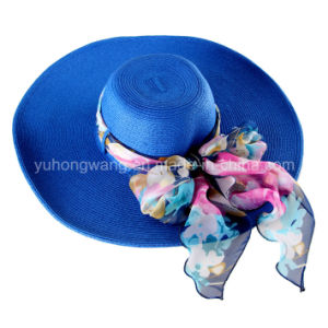 Customized Fashion Lady Straw Hat, Summer Sports Baseball Cap pictures & photos
