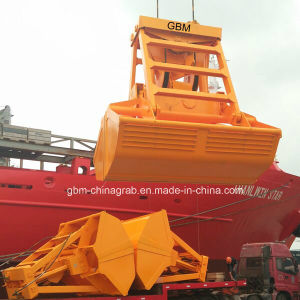 25t Wireless Remote Control Grab Bucket for Crane on Port pictures & photos