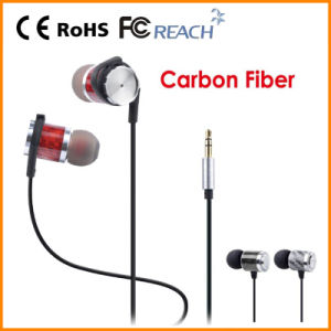 Carbon Fiber Stereo Wireless for iPhone Mobile in-Ear Earphone (REP-802ST)