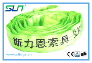 2017 5t 100% Polyester Endless Round Lifting Belt pictures & photos