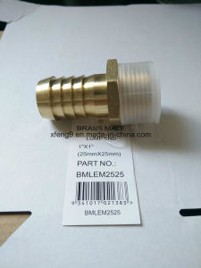 Brass Male Hose Barb Adapter Fitting pictures & photos