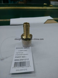 Brass Male Hose Barb Adapter Fitting Lump End pictures & photos