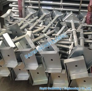 Galvanized Steel Screw Base Jack Scaffolding pictures & photos