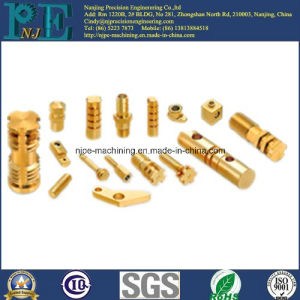 Precision CNC Machining Brass Auto Parts pictures & photos