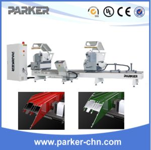 Aluminum and PVC Profile Double Head Cuting Machine pictures & photos