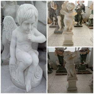 Marble Garden Sculpture of The Angel Statue