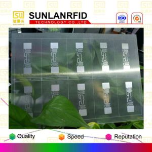 Best Selling Transparent UHF Inlay Prelam Sheet for Smart Cards for Card Making pictures & photos