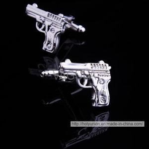 VAGULA Creative Gun Brass Silver Cuff pictures & photos