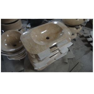 Hot Sell Natural Marble Sink pictures & photos