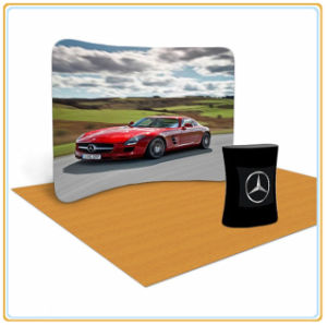 Sanren 10 FT. Ez Tube Display - Curved Single-Sided Graphic Package pictures & photos