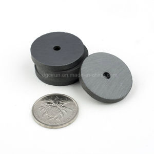 Hard Permanent Y25 Small Disc Ferrite Magnet pictures & photos