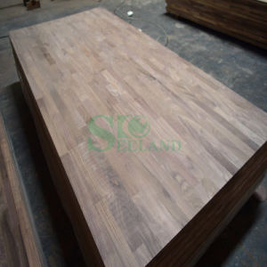 American Black Walnut Finger Jointed Board for Wall Panel pictures & photos