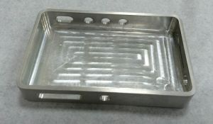 OEM Machining Aluminum Alloy Cover for Communication Products pictures & photos