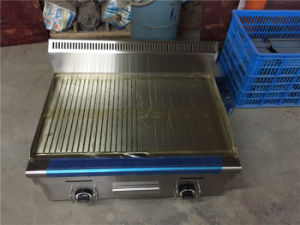 Stainless Steel Gas Grill and Griddle for Grilling Food (GRT-G750-2) pictures & photos